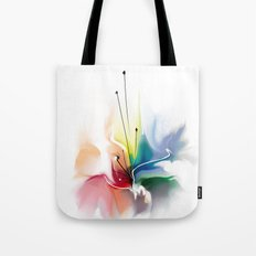 Beautiful abstract flower Tote Bag