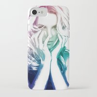 britney iPhone & iPod Cases featuring BRITNEY by Devon Jack