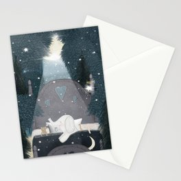 dreaming of stars Stationery Cards