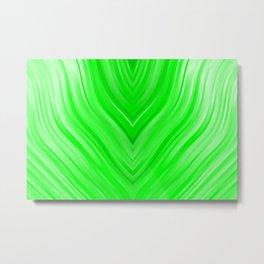 stripes wave pattern 3 die Metal Print