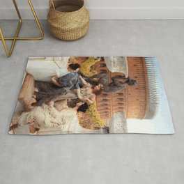 The Colosseum 1896 by Sir Lawrence Alma Tadema   Reproduction Rug