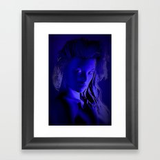 Midnight Girl Framed Art Print
