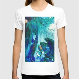 Bright Ocean Spaces, Tiny World Collection T-shirt