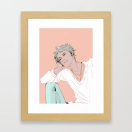 Mr. Refreshing Framed Art Print