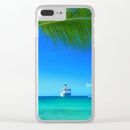 Domenicana beach Clear iPhone Case
