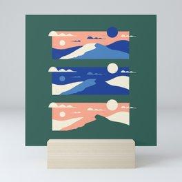 Pencil Scapes 5 Mini Art Print