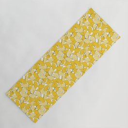 ginkgo leaves (yellow) Yoga Mat