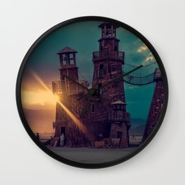 The Lighthouse Too Wall Clock