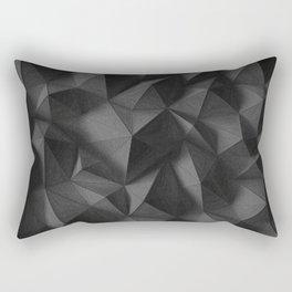 black rocks landscape Rectangular Pillow