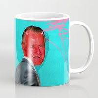 satan Mugs featuring Satan, That Scoundrel by Alec Goss