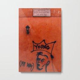 Young Rome Metal Print