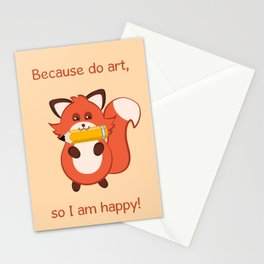 Commisions | foxy artist Stationery Cards
