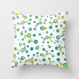 Burst Doodle Throw Pillow