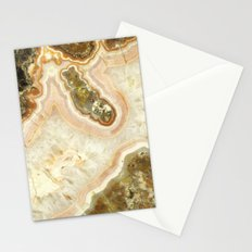 Pink Agate Stationery Cards