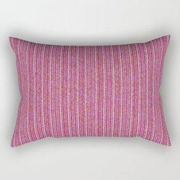Pink Roses in Anzures 1 Knit 2 Rectangular Pillow