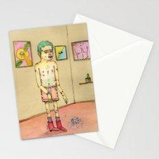Inseguridad por comparación Stationery Cards