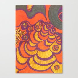Aftercrop Canvas Print