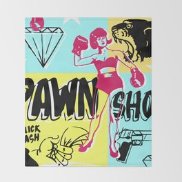 Pawn Shop Throw Blanket