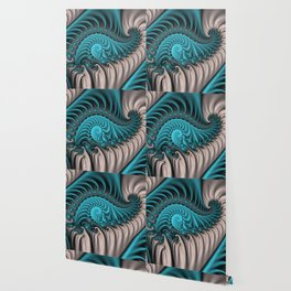 Fractal Soft, Blue Fantasy Wallpaper