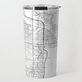Minimal City Maps - Map Of Scottsdale, Arizona, United States Travel Mug