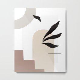 Village Abstract Metal Print
