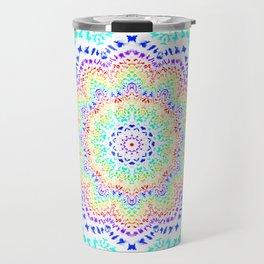 Rainbow Kaleidoscope 2 Travel Mug