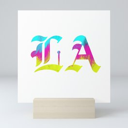 LA | Liliane Avalos logo Mini Art Print