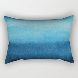 Indigo Ocean Dreams Rectangular Pillow