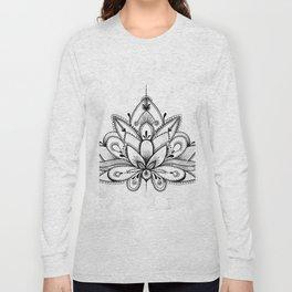 Boho Lotus Long Sleeve T-shirt