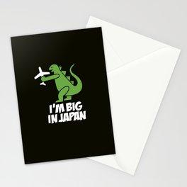 I'm big in Japan - Godzilla Stationery Cards