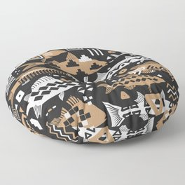 Boho Fishes II. Floor Pillow