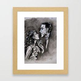 Surrender To Your Darkest Dreams Framed Art Print