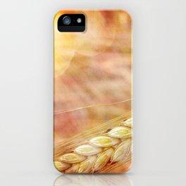 summer heat wheat iPhone Case