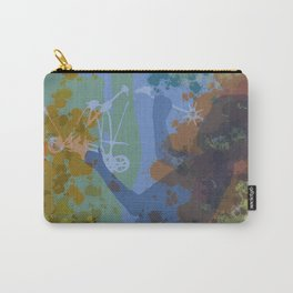 Voyager (Blue) Carry-All Pouch