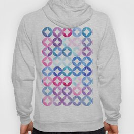 Geometric pattern with petals. Turkish pattern. Hoody