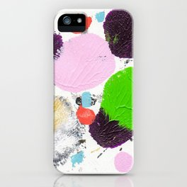 Art abstract 2 iPhone Case