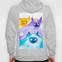 THOUGHTFUL CATS Hoody