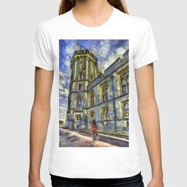 Windsor Castle Coldstream Guard Art T-shirt