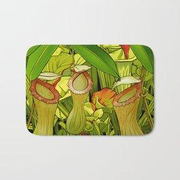 Carnivorous Pitcher Plant Bath Mat