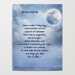 Dreamtime   Pamala Ballingham Poster