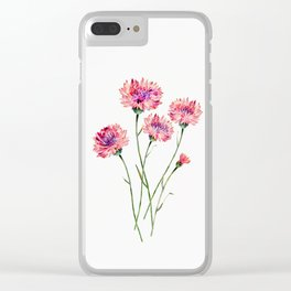 Wildflowers Clear iPhone Case