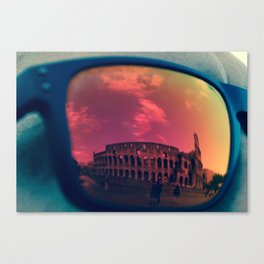 The Reflection of Gladiators  Canvas Print