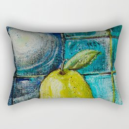 Moon Pear Rectangular Pillow