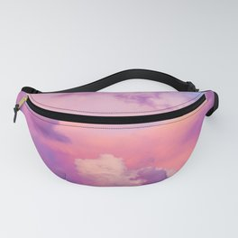 Pink & Purple Clouds Fanny Pack