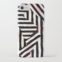 striped iPhone & iPod Cases featuring Striped by ST STUDIO