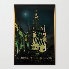 #SighisoaraClockTower III Canvas Print