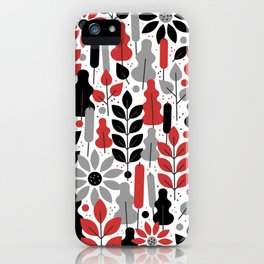 tropical tangle iPhone Case