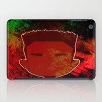 kendrick lamar iPad Cases featuring Kendrick Chibi by UnifiedGlory