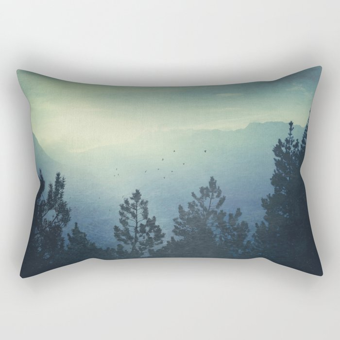 Waking Country Rectangular Pillow