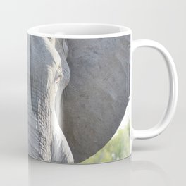 Elephant Up Close and Personal Coffee Mug